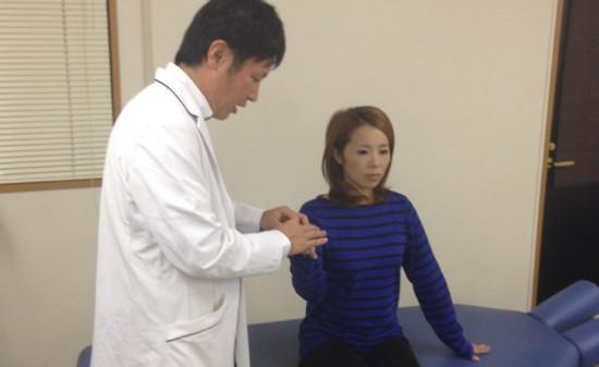 滋賀大津カイロプラクティック治療風景
