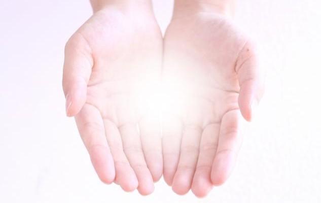 手のひらのエネルギー