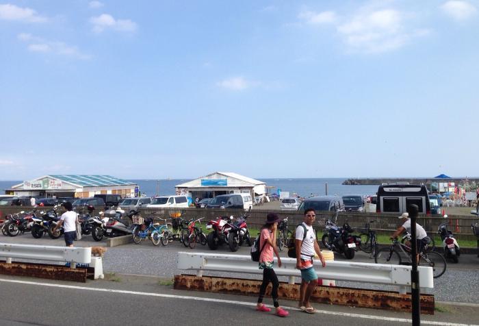 茅ヶ崎の海岸